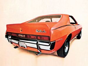 1970 Javelin, Mark Donahue