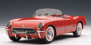 Diecast car reviews, Autoart '54 Vette