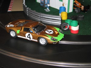 Scalextric Ford GT40, Slot cars, Scalextric