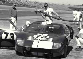 ford gt40, daytona, ford race cars