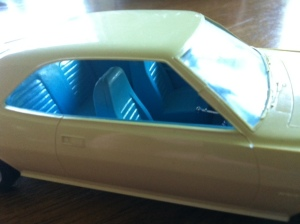 AMC 70 Javelin Promo model with blue interior, promo model reviews, American motors