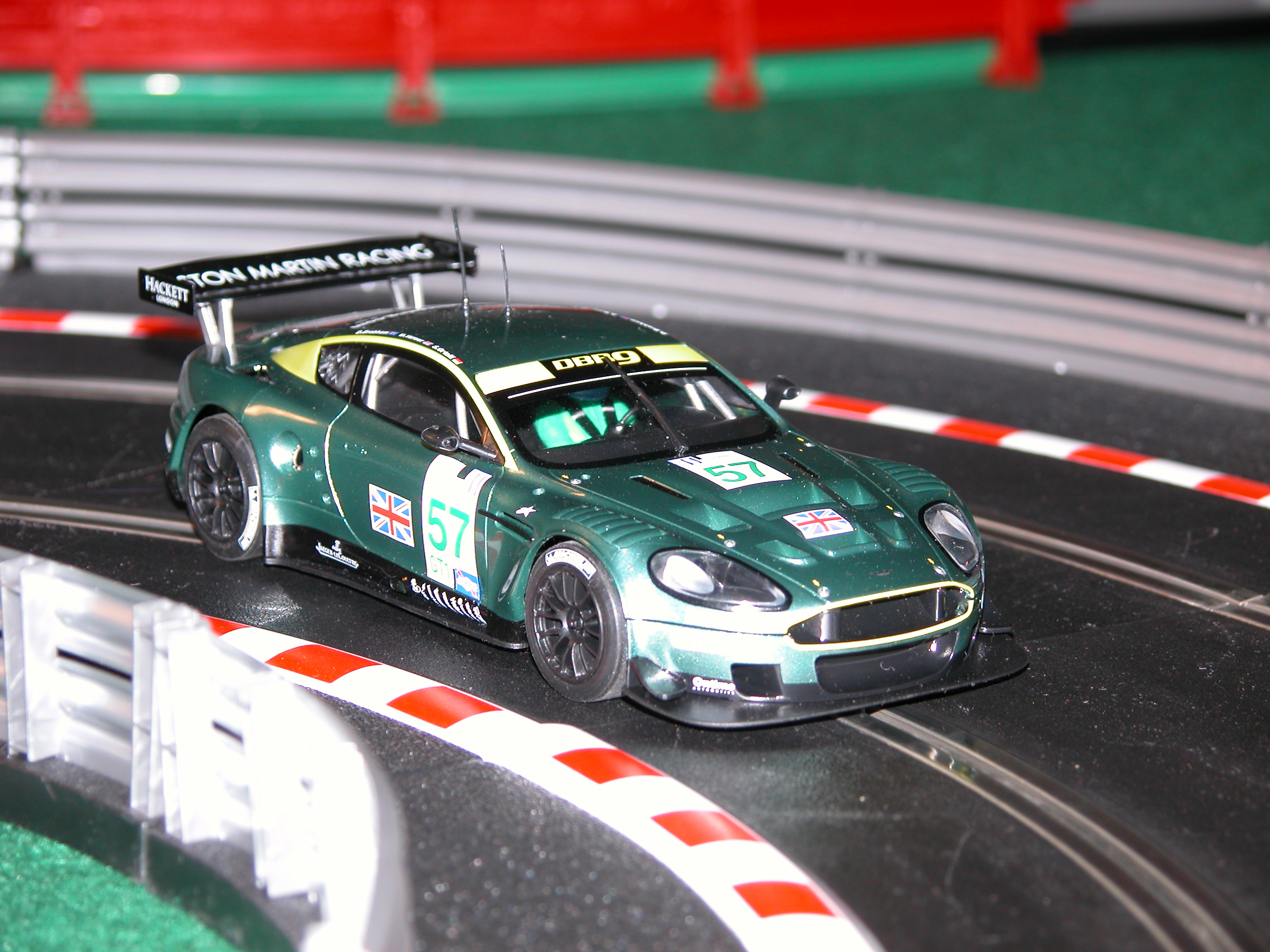 Slot cars: Scalextric Aston DBR9