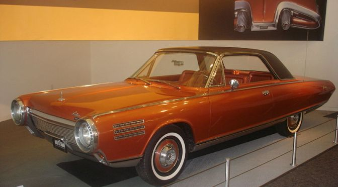 Promo models: Chrysler Turbine