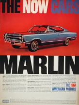 1966 amc marlin, american motors, american motors promotional model cars