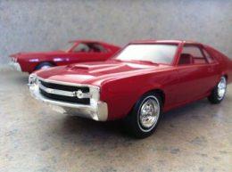 1968 AMX, 1970 AMX, promotional model cars, American Motors