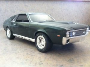 promotional model cars, AMX, AMC, American Motors