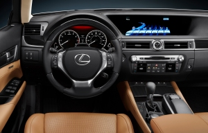 Lexus GS 350 leather interior, car reviews, Lexus car review