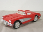 1958 Corvette promotional model car, 58 vette, chevrolet corvette, chevy, promotional model reviews, SavageOnWheels.com