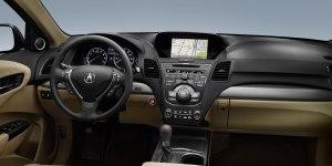 Acura RDX dash