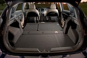 Hyundai Elantra GT with hatch open