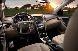 2013 Hyundai Elantra GT interior