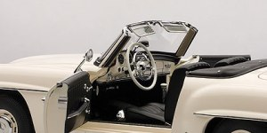 Benz 190 SL interior