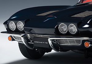 Corvette roll-away headlights