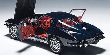 Corvette Stingray Models on Die Cast  Autoart 1963 Chevrolet Corvette Sting Ray   Savage On Wheels