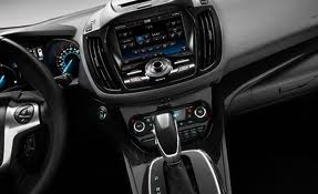 Ford Escape interior controls