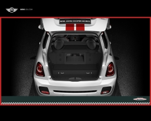 MINI Cooper Coupe's rear hatch