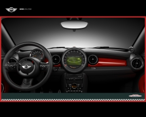 John Cooper Works MINI interior