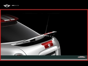 MINI Cooper rear wing