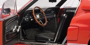 1967 Shelby Mustang interior