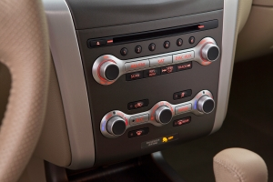 nissan murano climate controls