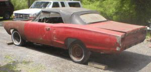 1969 Dodge Coronet Convertible , dodge convertibles, promo models, savageonwheels.com, paul daniel
