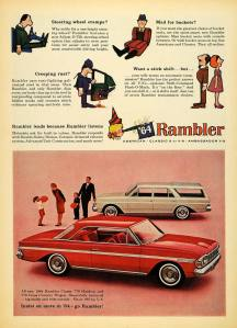 1964 Rambler Classic Cross County Wagon, AMC, AMC station wagons, American Motors, SavageOnWheels.com