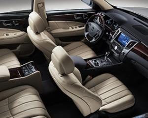 Interior of Hyundai Equus