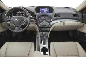 Acura ILX dash and gauges