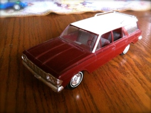 promo models, dealer promotional model cars, 1964 Rambler Cross County wagon, American Motors, AMC, SavageOnWheels.com