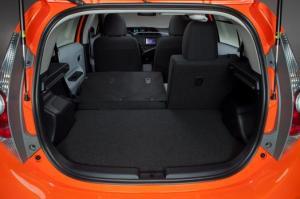 Cargo space for Toyota Prius C