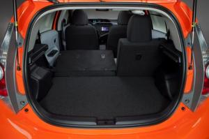 Cargo space for Toyota Prius C