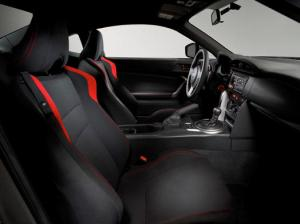Scion FR-S interior and seats