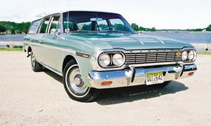 1964-Rambler-Classic-Cross-Country, AMC wagons, american motors, AMC, SavageOnWheels.com