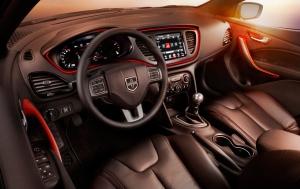 2013 Dodge Dart interior