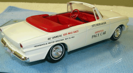 Studebaker Indy Pace Car promo model, Studebaker, studebaker promo models, savageonwheel.com