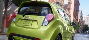 Chevy Spark rear view
