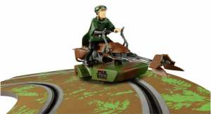 Luke Skywalker, star wars, star wars speeder, savageonwheels.com, slot car reviews