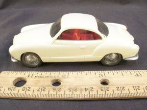 VW Karmann Ghia, get smart, don adams, promotional model cars, promo model cars, savageonwheels.com, paul