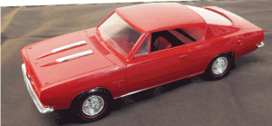 Cuda, Barracuda, Plymouth, Plymouth Barracuda, SavageOnWheels.com, promotional model cars, collector cars