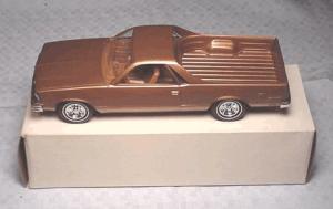 Chevy El Camino promo model, ute, coupe utility, savageonwheels.com