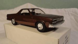 Chevy El Camino, ute, coupe utility, promo model cars, savageonwheels.com