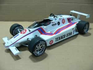 Tom Sneva's 1984 Indy 500 Pole winner, the Texaco Star will be available soon.