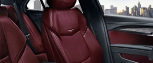 Here's another look at the red leather ATS seats.
