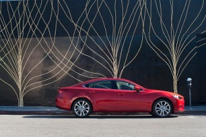 Mazda6 has a clean elegant profile for 2014.