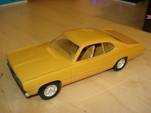 Promotional model cars, Plymouth Duster, Duster, Plymouth, chrysler corporation,SavageOnWheels.com