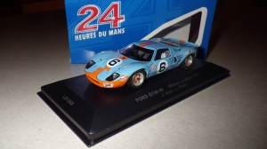 Ford GT40 Mk. I that won the 1969 LeMans endurance race.