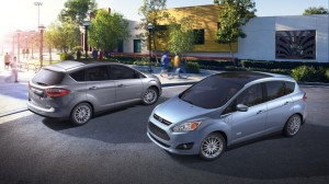The C-Max comes in standard hybrid and plug-in, the Energi.