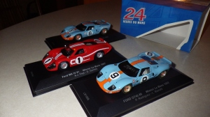 Ixo's version of the 1967, '68, and '69 LeMans-winning Ford GT40s.