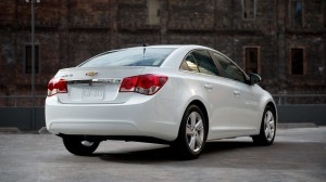 The Chevy Cruze Turbo Diesel looks as trim and tidy as other Cruze models.