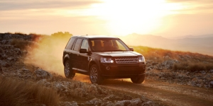 The LR2 is adept running on, or off road.